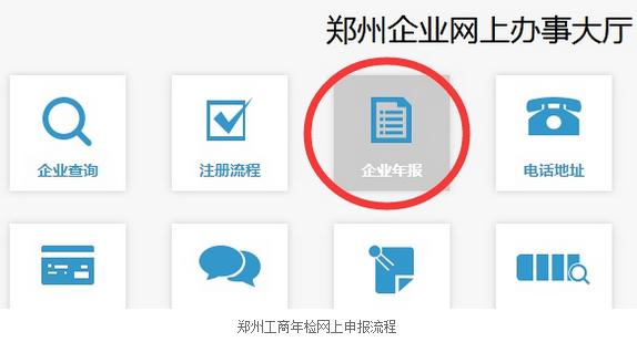 郑州工商营业执照年检(年报)网上申报流程-3