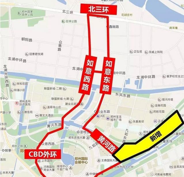 郑州自贸区CBD详细范围