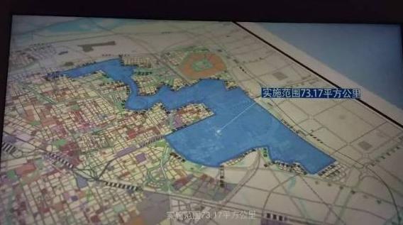 郑州自贸区总面积73.17平方公里