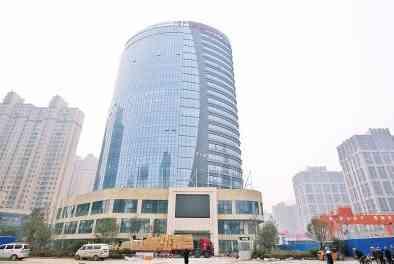 郑州自贸区工商局综合服务中心大楼
