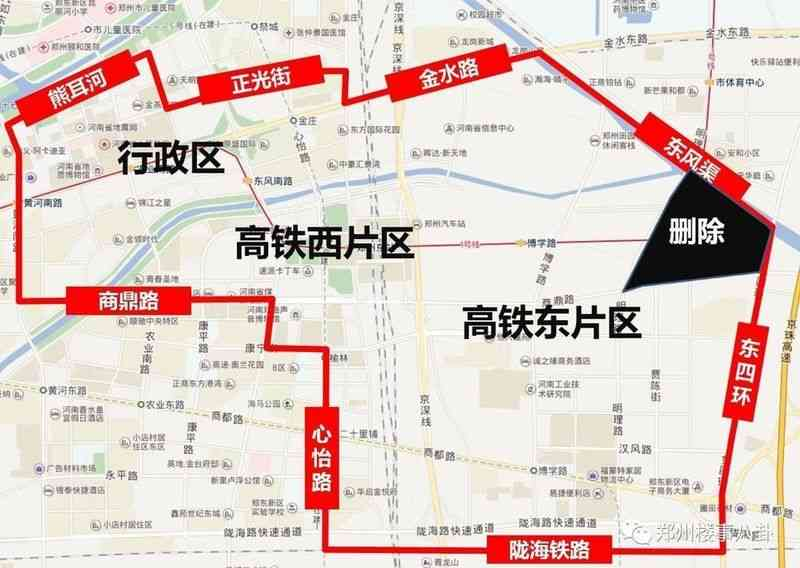 郑东新区CBD范围