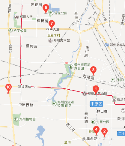 中原区工商所地图位置