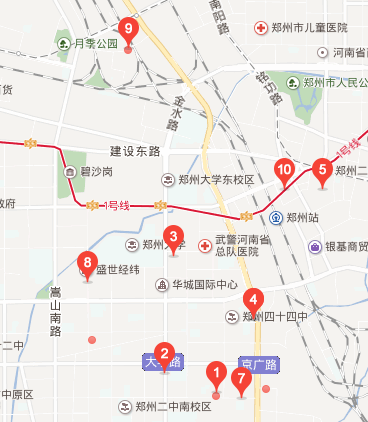 二七区工商所地图标注