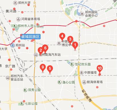 管城区工商所地图标注