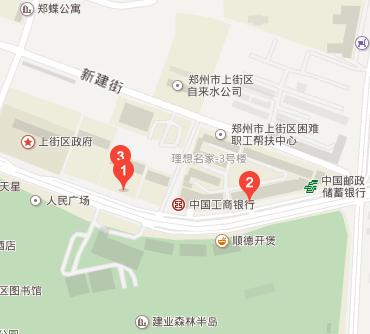 上街区工商所地图标注