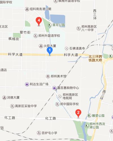 高新区工商所地图